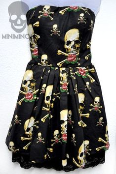 Gorgeous skull dress