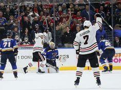 Keith scores late goal, Blackhawks beat Blues 4-3