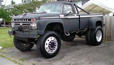 66 Mercury Truck