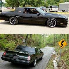 This is one sick Monte Carlo. Owned by 👍🏼 Chevrolet Monte Carlo, Chevrolet Malibu, Buick Grand National, Chevy Muscle Cars, Gm Car, Old School Cars, American Muscle Cars, Chevy Chevelle, Hot Cars