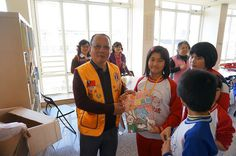 Taoyuan Chung Yi Lions Club (Taiwan) | Lions provided care for disadvantaged school children