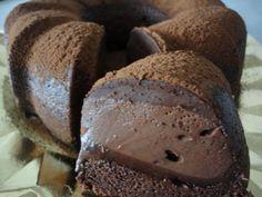 Bizcocho mágico de cacao Ver receta: http://www.mis-recetas.org/recetas/show/42277-bizcocho-magico-de-cacao