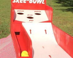 Skee Ball Style Carnival Game