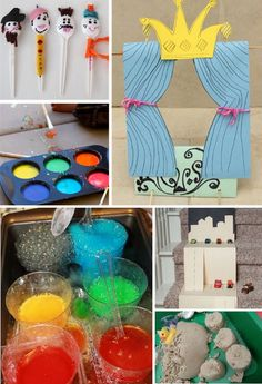 10 summer boredom busters - Fun Activities and Games for Creative Kids | @kimbyers TheCelebrationShoppe.com