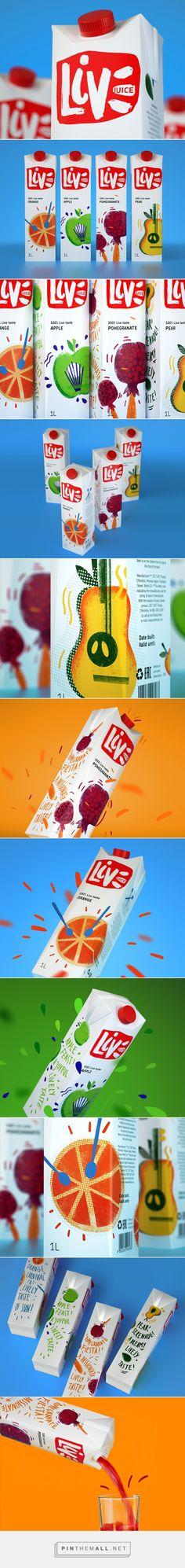 juice LIVE on Behance