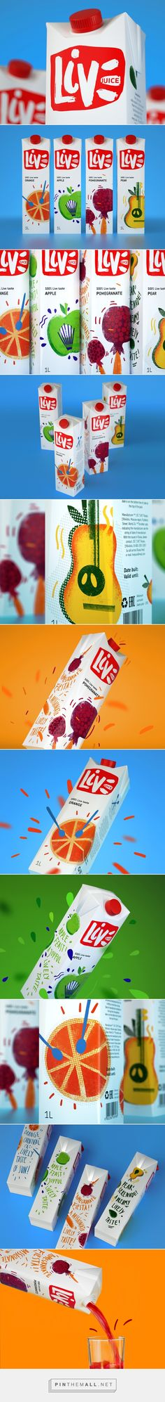 juice LIVE on Behance