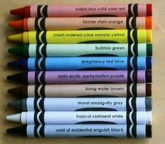 Crayola now has all the colors of my life.