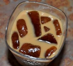 Iced Coffee Cubes in Iced Coffee -- duh!