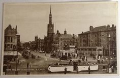 Open top tram. Talbot Square.