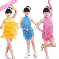 Find More Ballroom Information about Girls Latin Ballroom Dancing Dresses 110 170cm One Piece Tango Dress Latin Costume With Tassel  Dancing Clothing  DS014,High Quality dress stills,China dress bandage Suppliers, Cheap dress flirt from URA Co.,Ltd.(No.3) on Aliexpress.com