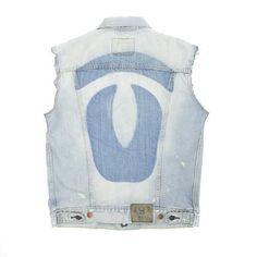 Warriors Nomad Levi's® cut off Denim Vest