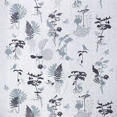 Med sitt vakre, naturinspirerte motiv blir Morph voksduk et herlig grunnlag til borddekkingen. Mønsteret er designet av den danske formgiveren Susanne Schjerning og forestiller ulike blomster, blad og dyr fra hennes sagaverden. Voksduken er produsert i akrylbelagt bomull og er enkel å tørke og rengjøre. Ved tøffere flekker kan duken kjøres i vaskemaskin.