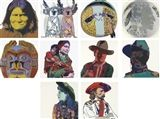 Artwork by Andy Warhol,  Cowboys and Indians (F. & S. 377-86)