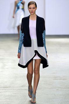 Antonio Berardi Spring 2013 Ready-to-Wear Fashion Show - Tilda Lindstam