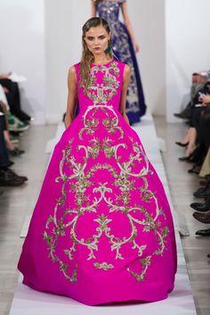 Oscar de la Renta Runway | Fashion Week Fall 2013 Photos// my fashion week ultimate!