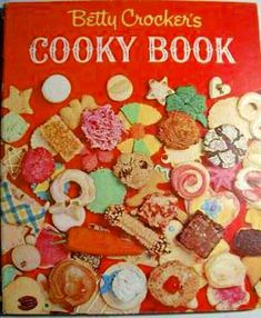 Cookie cookbook from 1963; part of my vintage cookbook collection.