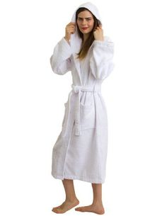 007b099913 Industries Needs — TowelSelections Turkish Cotton Hooded Bathrobe for...  Fashion Clothes Online