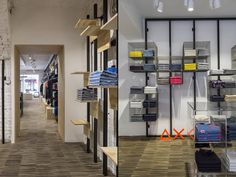 Sun68 Stores by C&P Architetti, Cuneo & Modena – Italy » Retail Design Blog #fixturesystem