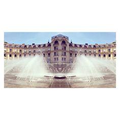 via Instagram bastarts: WASSERBURG #ignt_aquatic #fountain #überwasser #stachus #munich #karlsplatz #refresh #summer