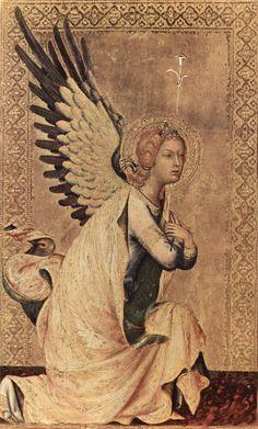 S. Gabriel the Archangel Martini, Simone (Siena, 1284 - Avignon, 1344)