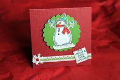 3 Christmas Note Cards by KipseysCardShop on Etsy