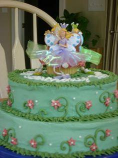 Adorable Fairy Birthday Cake