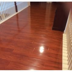 Yulf Design & Flooring 7 x 48 x Laminate Flooring Color: Warm Rosewood Bamboo Laminate Flooring, Wood Laminate, Wooden Flooring, Hardwood Floors, Kitchen Flooring, Composite Flooring, Best Laminate, Mohawk Flooring, Floor Colors