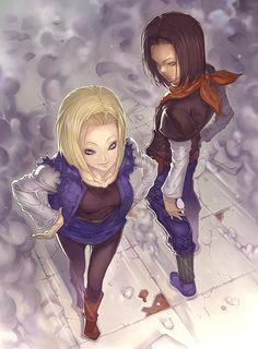 Dragon Ball Z - Androids 17 & 18