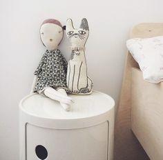 Severina Kids Cat & Jess Brown Doll are best friends