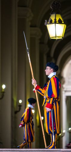 Vatican Swiss Guard, Rome, Italy