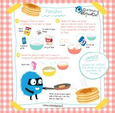 Eat Stop Eat To Loss Weight - recette de pancakes - In Just One Day This Simple Strategy Frees You From Complicated Diet Rules - And Eliminates Rebound Weight Gain Kids Meals, Easy Meals, New Recipes, Cooking Recipes, Stop Eating, Cooking With Kids, Diy Food, Easy Desserts, Food Porn