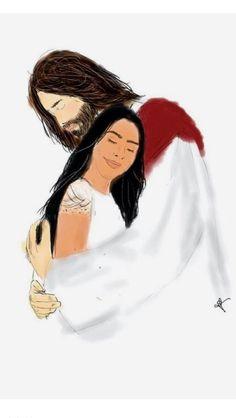 Em Teus braços é o meu descanso