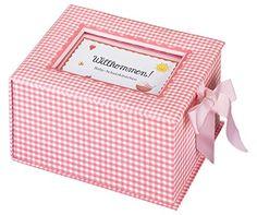 "Baby-Schatzkästchen ""Willkommen!"" rosa: Amazon.de: Anne Mussenbrock: Bücher"