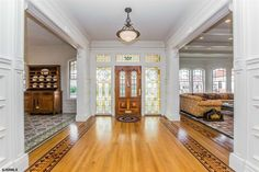"""If we had to describe this Victorian in two words, we'd choose """"pattern addict."""""""
