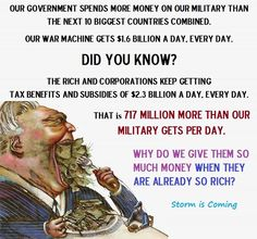 The propaganda machine is so strong - wow - millions of Americans did not realize they are getting screwed everyday -