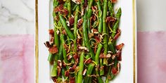 Nutty Green Beans and Asparagus With Bacon Recipe - Good Housekeeping Easter Recipes