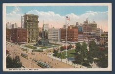 Postcards - United States #  915 - Downtown View of Cleveland, Ohio