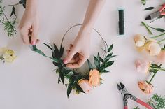 From boho hairstyles to classic-styled blooms, we chat with flower crown DIY guru Christy Meisner Doramus on her top tips for pulling off the perfect flower crown look for any occasion.