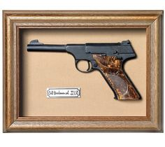 Quadro  Réplica de Arma Colt Woods