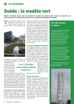 Planète Mag, magazine de l'association Planète Nuits-Saint-Georges : conception-rédaction du dossier Développement durable.