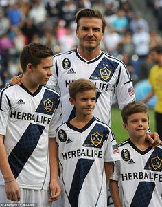David Beckham's adorable children