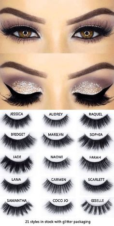 Durable & Reusable faux lashes for all eye styles with unique, eye-accentuating . Durable & Reusable faux lashes for all eye styles with unique, eye-accentuating … Durable & Reusable faux lashes for all eye styles with unique, eye-accentuating shapes Eye Makeup Tips, Smokey Eye Makeup, Hair Makeup, Makeup Ideas, Makeup Hacks, Makeup Tutorials, Makeup Products, Gold Makeup, Beauty Products