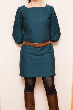 La Petite Robe de Vanessa Pouzet - Premiers pas en couture...