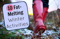10 Ways to Melt Mega Calories This Winter | via @SparkPeople #winter #wellness #health