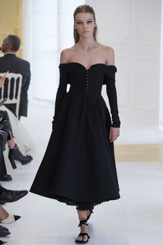 Christian Dior Fall 2016 Couture Fashion Show - Roos Abels (Ford)