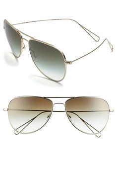 Isabel Marant par Oliver Peoples 'Matt' 60mm Aviator Sunglasses