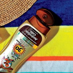 This body sunscreen creates a subtle golden tint while it shields. Click through for 11 more of the best beauty products to look like a GODDESS on vacation. #WHBeautyAwards