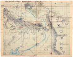 Tolkien's Hand-Drawn map of Middle-Earth.