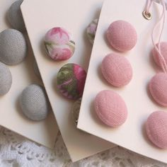 Whitenroses: I miei bottoni- My buttons