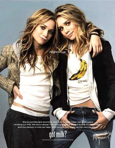 The Olsen twins were all grown up! Early '00s